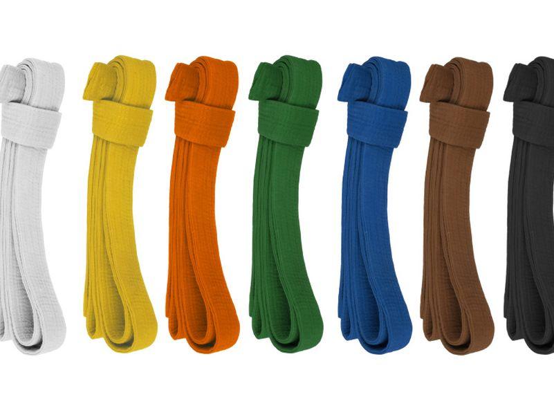 цветные пояса
