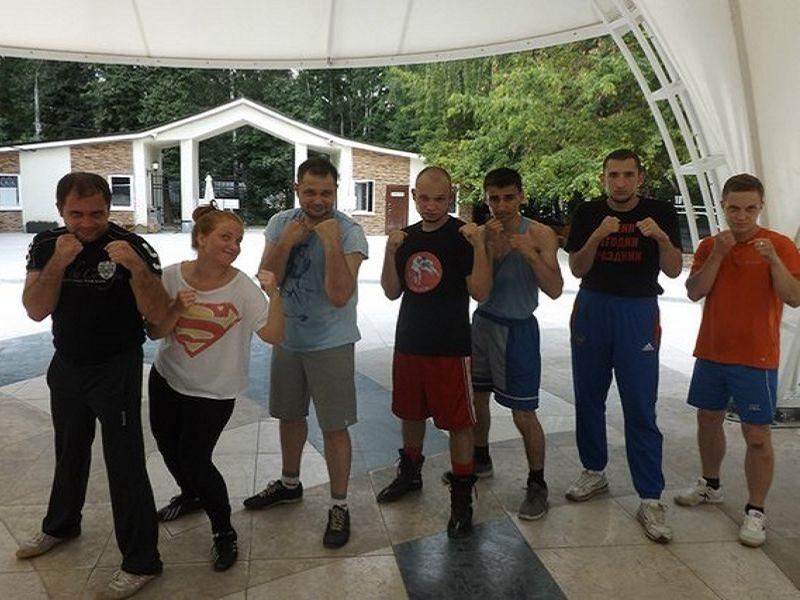 бокс в парке Сокольники