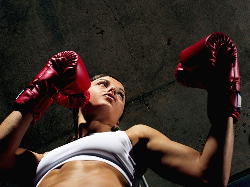 тренировки по боксу у девушек